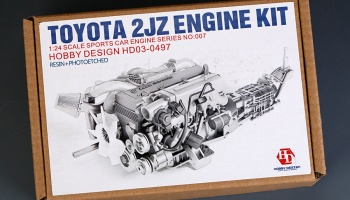 Toyota Supra 2JZ Engine Kit - Hobby Design