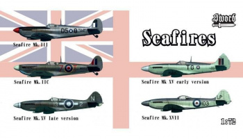 1/72 Seafires II.c, III, XV early, XV late, XVII