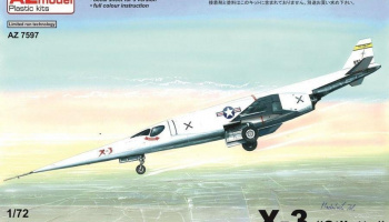 1/72 Douglas X-3 Stiletto prototype