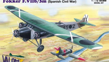 1/72 Fokker F.VIIb/3m (Spanish Civil War)
