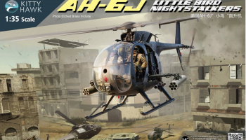 AH-6J/MH-6J Little Bird Nightstalkers 1/35 - Kitty Hawk