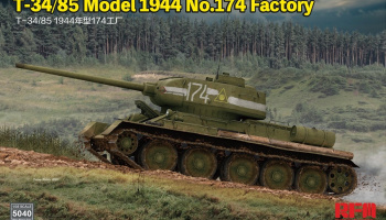 T-34/85 Model 1944 No.174 Factory 1/35 - Rye Field Model