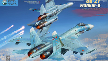 Su-27 Flanker-B 1/48 - Kitty Hawk