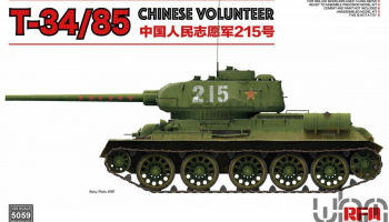 Soviet T-34/85 Chinese Volunteer  1/35 – Rye Field Model