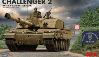 Challenger 2 with workable track links 1/35 – Rye Field Model