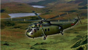 Sea King Hc.4, Falklands War 1:72 - Dragon