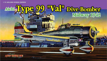 "Aichi Type 99 ""Val"" Dive-Bomber, Midway 1942 1/72 - Dragon"