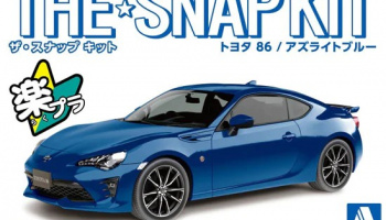 TOYOTA 86 (Azurite Blue) The Snap Kit 1:32 - Aoshima