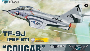 TF-9J Cougar (1:48) - Kitty Hawk