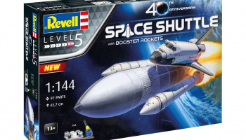 Space Shuttle & Booster Rockets - 40th Anniversary (1:144) - Revell