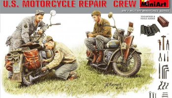 U.S. Motorcycle Repair Crew. Special Edition 1/35 - MiniArt