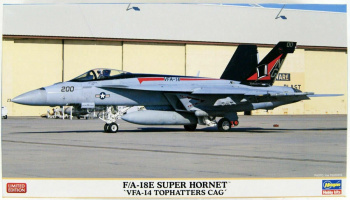 "F/A-18E Super Hornet ""VFA-14 Top Hatter's CAG"" 1/72 - Hasegawa"