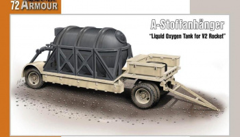 1/72 A-Stoffanhänger Liquid Oxygen Tank for V2 Ro