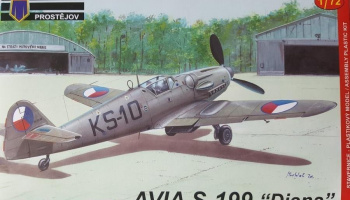 1/72 Avia S-199 Diana Early