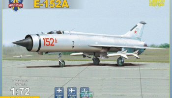 1/72 Ye-152A Soviet twin-engined interceptor prototype