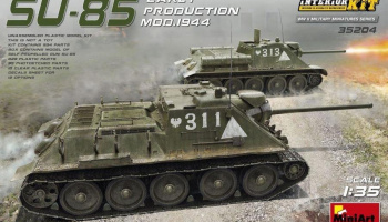 1/35 SU-85 Mod. 1944 (Early Production) w/ Interior Kit