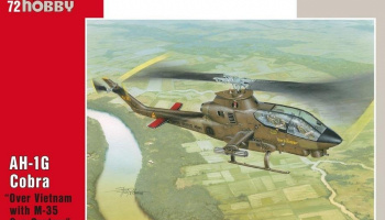 1/72 AH-1G Cobra Over Vietnam with M-35 Gun Syste