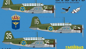 1/48 SAAB B17B - The first SAAB aircraft
