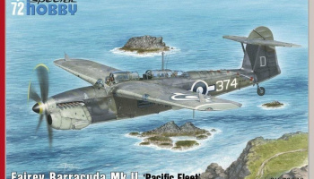 1/72 Fairey Barracuda Mk.II Pacific Fleet