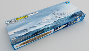 German Bismarck Battleship in 1:350 - Trumpeter