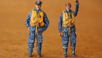 1/48 German Fighter Pilots WW II (Battle of Britai
