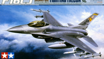 Lockheed Martin F-16CJ Fighting Falcon (1:32) - Tamiya