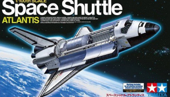 Space Shuttle Atlantis (1:100)- Tamiya