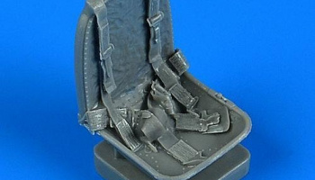 1/32 A-1 Skyraider seat with safety belts for TRUM/ZOUKEI kit