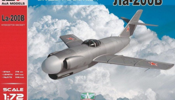 1/72 La-200B All-weather interceptor prototype