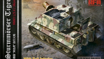 Sturmmorser Tiger (full interior) 1/35 - RFM