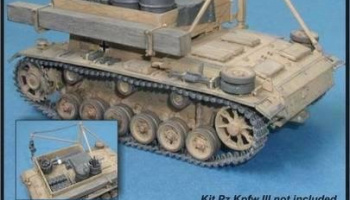 1/35 Bergepanzer III - conversion set for TAM