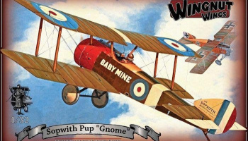 "Sopwith Pup ""Gnome"" 1/32 - Wingnut Wings"