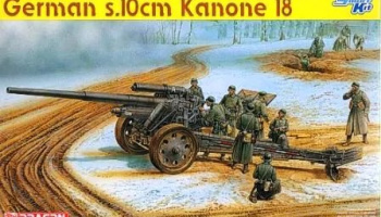 German s.10cm Kanone 18 1:35 - Dragon