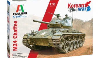 M24 Chaffee Korean War 1:35 - Italeri