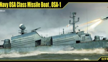 Russian Navy OSA Class Missile Boat OSA-1 (1:72) - I Love Kit