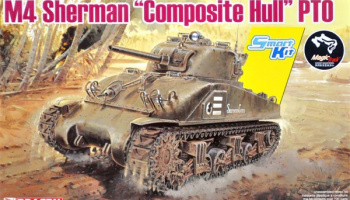 "M4 Sherman ""Composite Hull"" PTO 1:35 - Dragon"