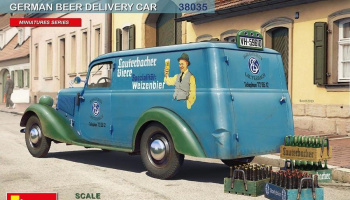 Lieferwagen Typ 170V German Beer Delivery Car 1/35 - MiniArt