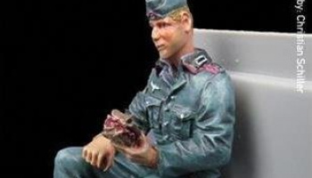 1/35 Co-Driver Figure Stullen Andi