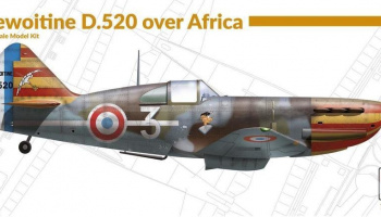 1/72 Dewoitine D.520 over Africa