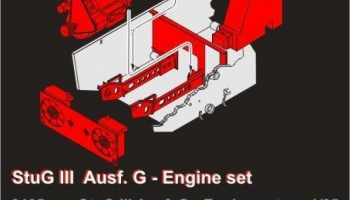 1/35 StuG III Ausf.G - Engine set for Drag. Kit