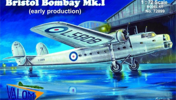 1/72 Bristol Bombay Mk.I (early production)