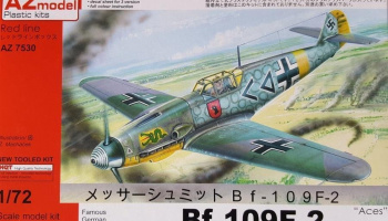 1/72 Bf 109F-2 Aces