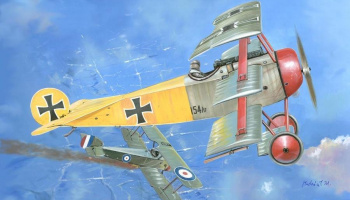 1/144 Fokker Dr.I (double set)