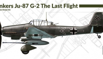 1/72 Junkers Ju-87 G-2 The Last Flight