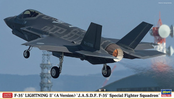 "F-35 LIGHTNING II (A Version) ""J.A.S.D.F. F-35® Special Fighter Squadron"" (1:72) - Hasegawa"