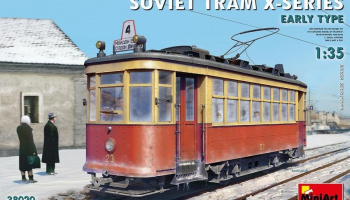 "1/35 Soviet Tram ""X""-Series. Early Type."