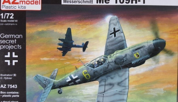 1/72 Bf 109H-1 Hohenjager