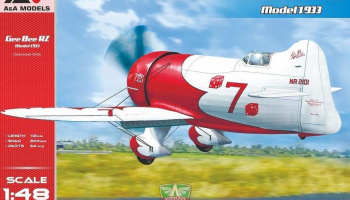 1/48 Gee Bee R2 ( 1933 release) racing aircraft