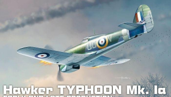 1/72 Typhoon Mk Ia Plastic kit with PE parts