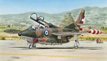 1/48 T-2 Buckeye Camuflaged Trainer